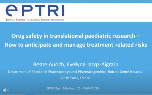 video Drug safety in translational paediatric research - How to anticipate and manage treatment related risks