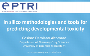 video In silico methodologies and tools for predicting developmental toxicity