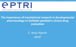 video The importance of translational research in developmental pharmacology