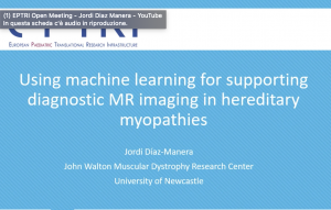 video Using machine learning for supporting diagnostic MR imaging in hereditary myopathies