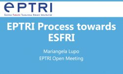 EPTRI process towards ESFRI