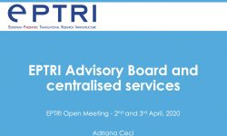 EPTRI Advisory Board and centralised services