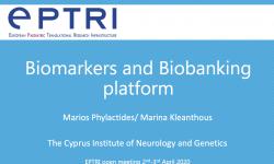 Biomarkers and Biobanking platform