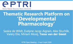 Thematic Research Platform on 'Developmental Pharmacology