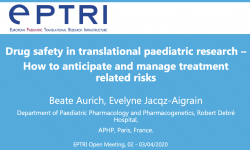 Drug safety in translational paediatric research – How to anticipate and manage treatment related risks