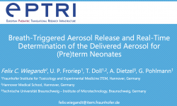 Breath-Triggered Aerosol Release and Real-Time Determination of the Delivered Aerosol for (Pre)term Neonates