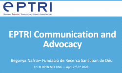 EPTRI Communication and Advocacy