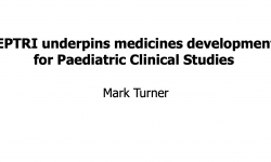 EPTRI underpins medicines development for Paediatric Clinical Studies
