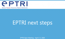 EPTRI next steps